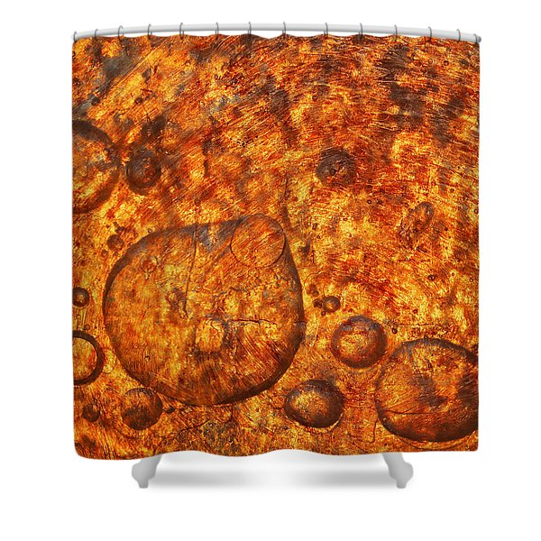 Clustering Shower Curtain