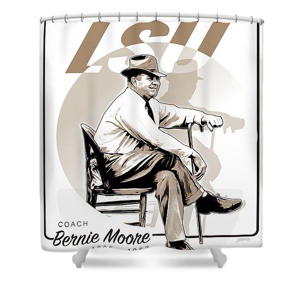 Coach Bernie Moore Shower Curtain