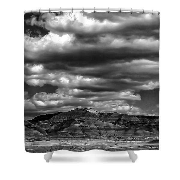 Coal Canyon Shower Curtain