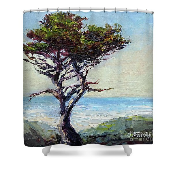 Coast Cypress Shower Curtain