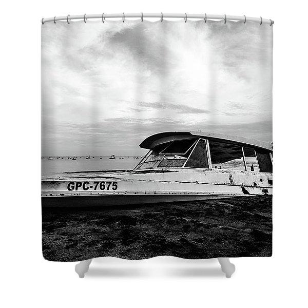 Coast Guardin  Shower Curtain