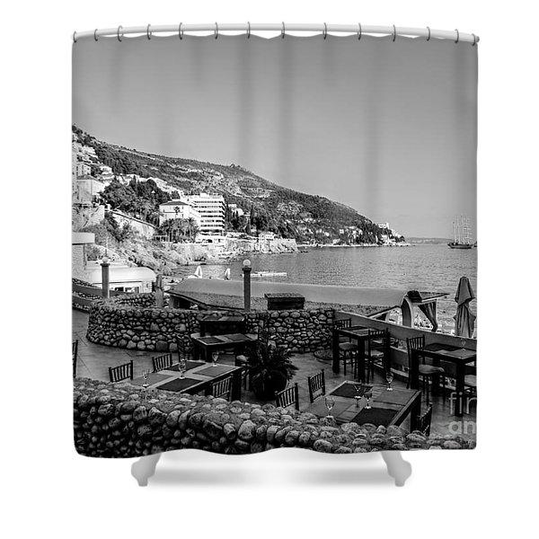 Coast Of Dubrovnik Shower Curtain