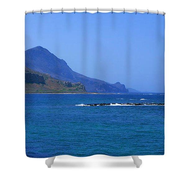 Coast Of Gramvousa Shower Curtain