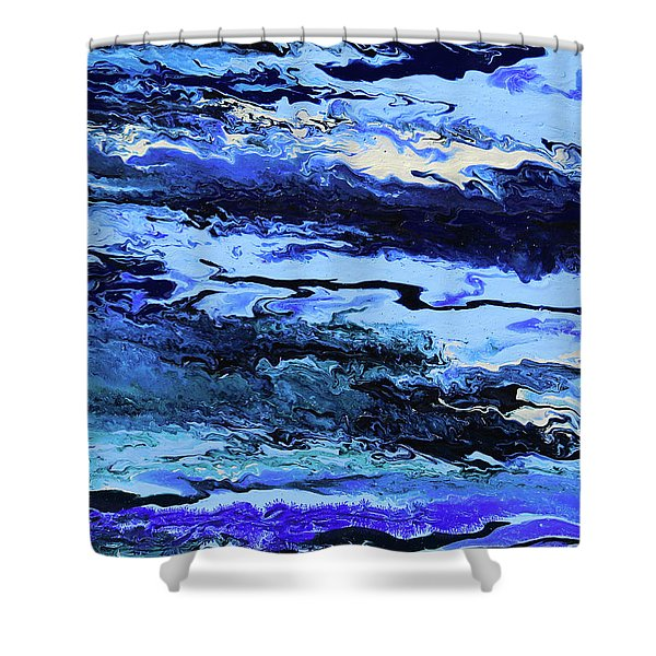 Coastal Breeze Shower Curtain