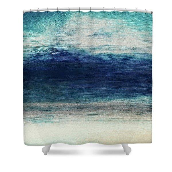 Coastal Escape 2- Art By Linda Woods Shower Curtain