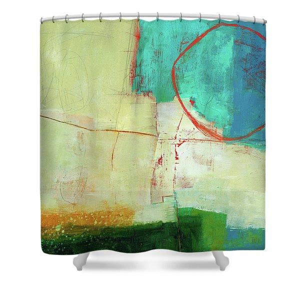 Coastal Fragment #7 Shower Curtain