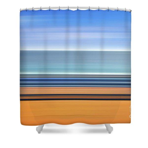Coastal Horizon 1 Shower Curtain