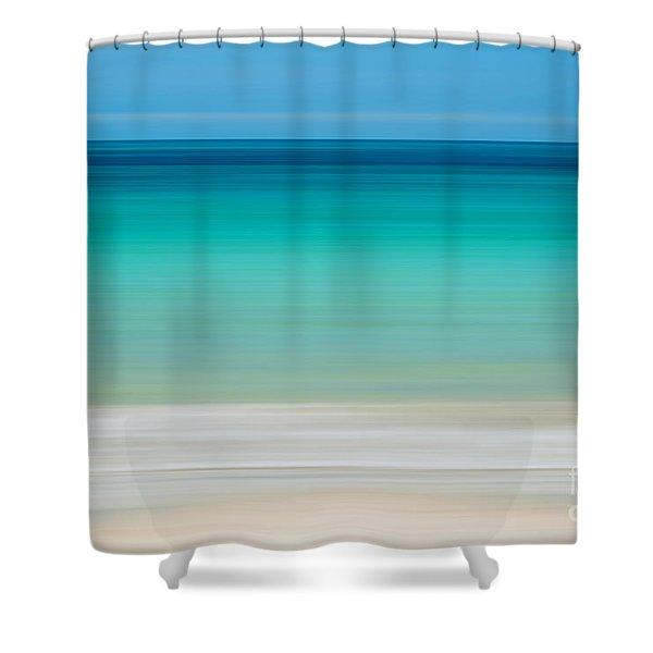 Coastal Horizon 11 Shower Curtain