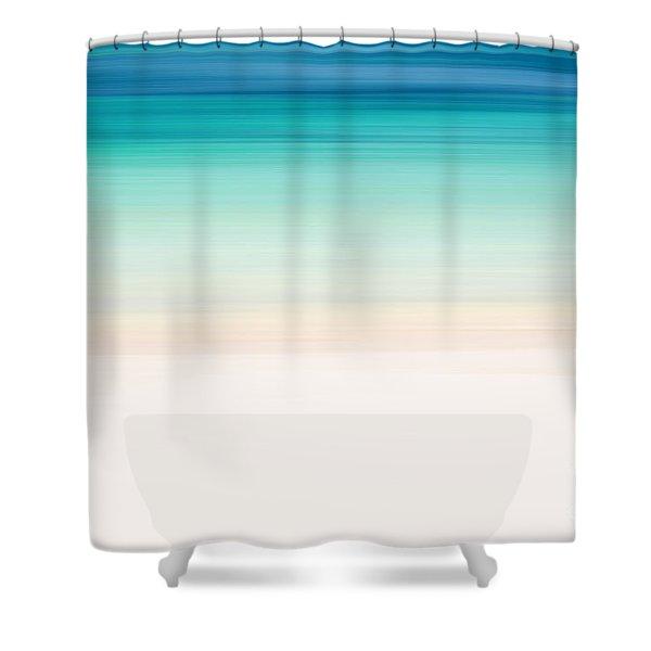 Coastal Horizon 12 Shower Curtain