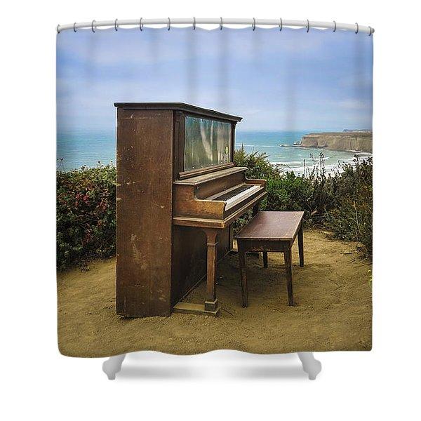 Coastal Keys Shower Curtain