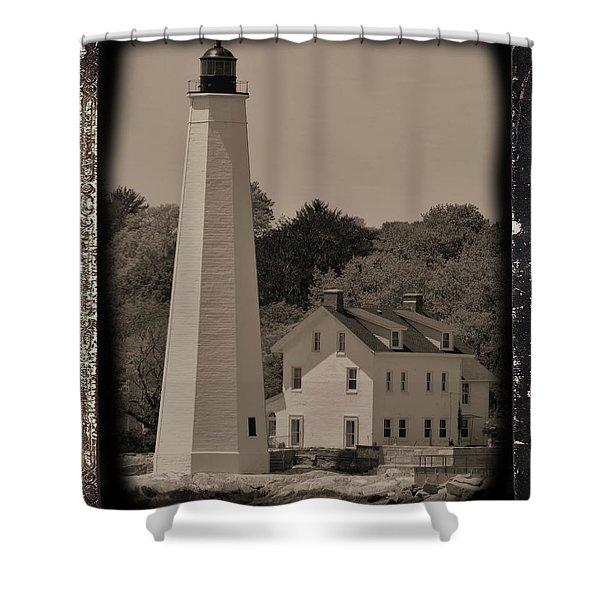 Coastal Lighthouse 2 Shower Curtain