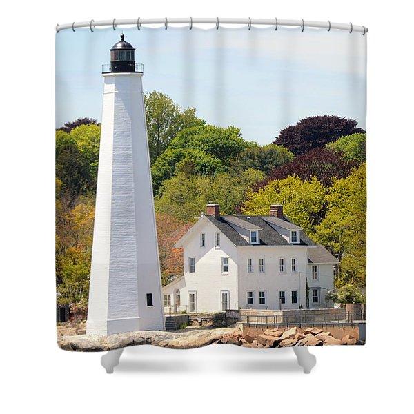 Coastal Lighthouse-c Shower Curtain