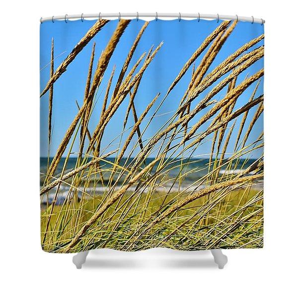 Coastal Relaxation Shower Curtain