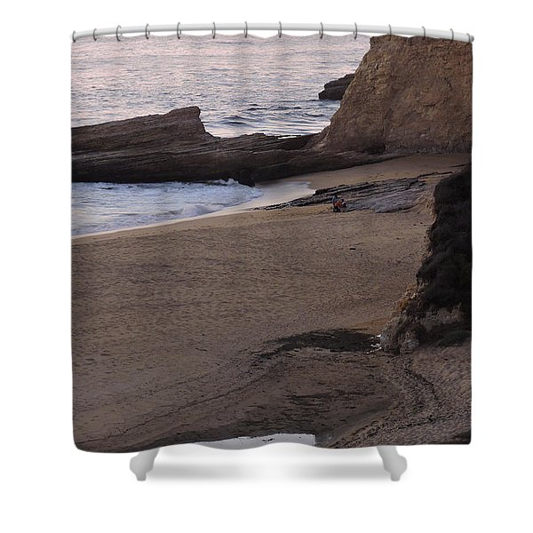 Coastal Tide Pool Shower Curtain