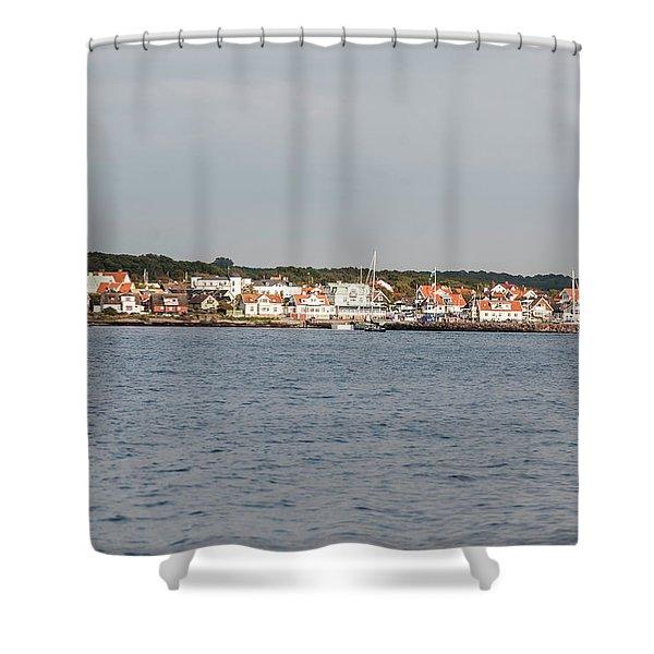 Coastline At Molle In Sweden Shower Curtain