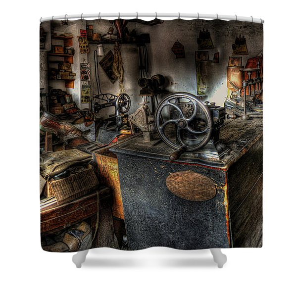 Cobbler's Shop Shower Curtain