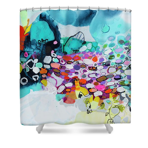 Cobblestones Of San Miguel Shower Curtain