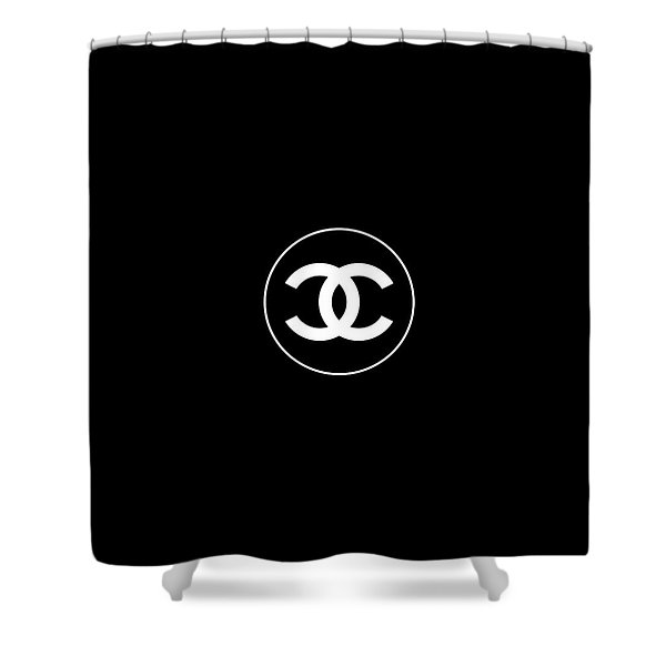 Coco Chanel Shower Curtain