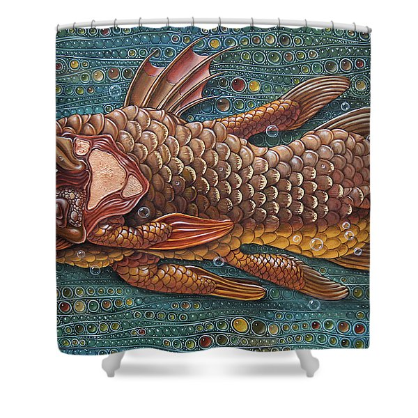 Coelacanth Shower Curtain