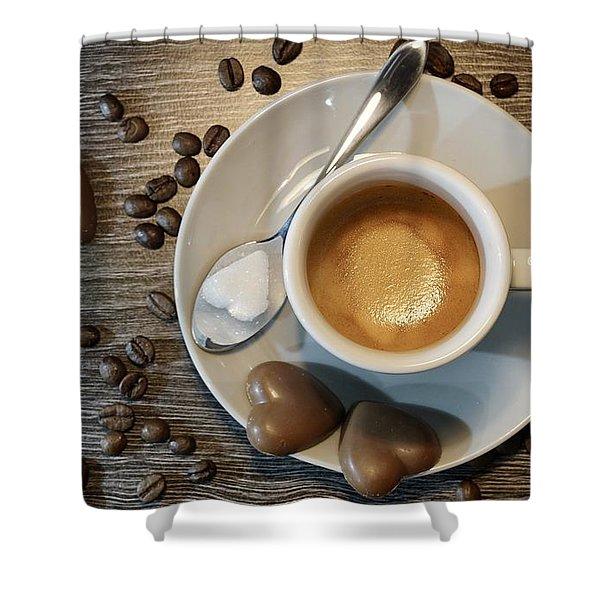 Coffee #1 Shower Curtain