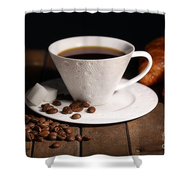 Coffee #4 Shower Curtain