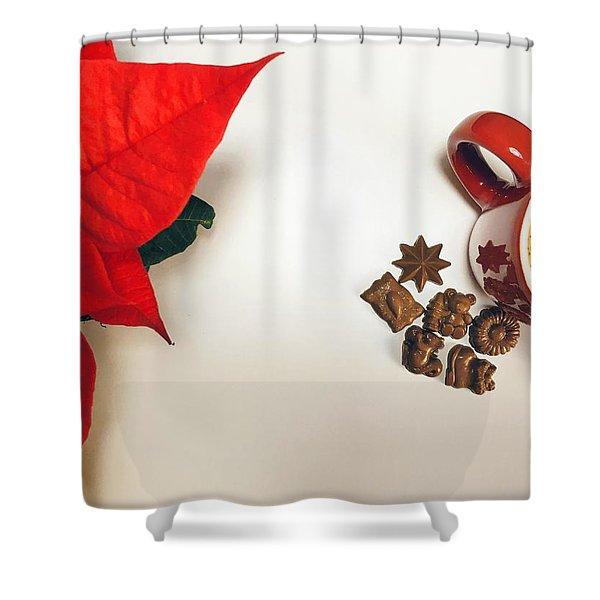 Coffee And Chocolate Shower Curtain