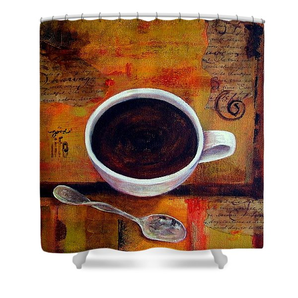 Coffee I Shower Curtain