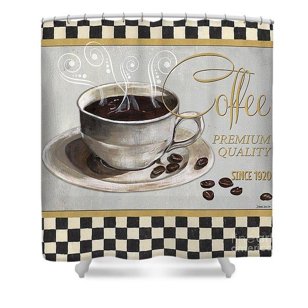 Coffee Shoppe 1 Shower Curtain