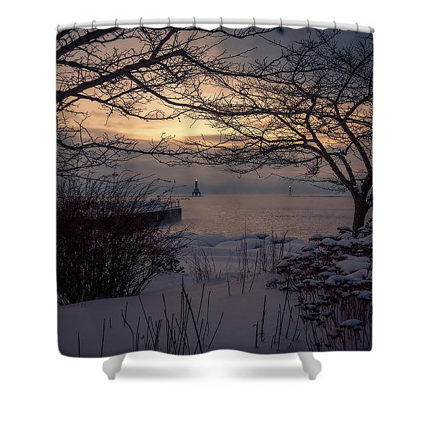 Cold Fingers Shower Curtain