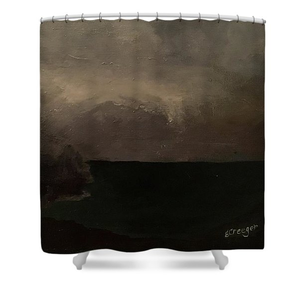 Cold Fog And Sea Shower Curtain