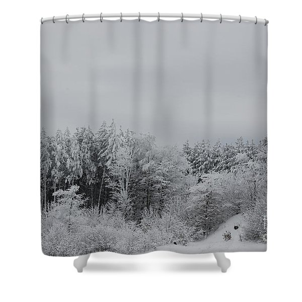 Cold Mountain Shower Curtain
