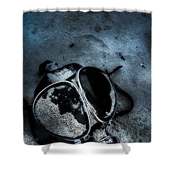 Cold War Casualties Shower Curtain