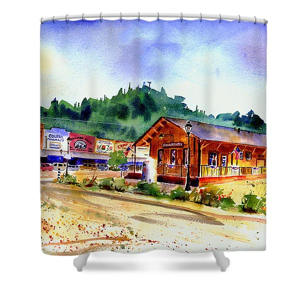 Colfax Rr Junction Shower Curtain