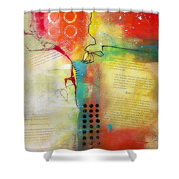 Collage Art 5 Shower Curtain