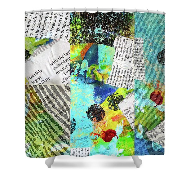 Collage No 11 Shower Curtain