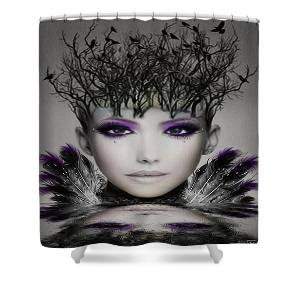 Collective Thoughts Shower Curtain