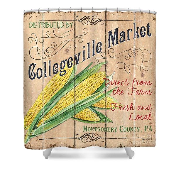 Collegeville Market Shower Curtain