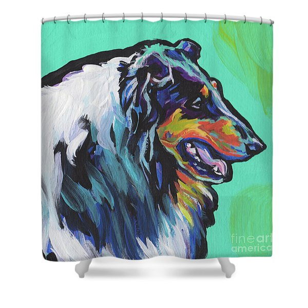 Collie Collie Shower Curtain