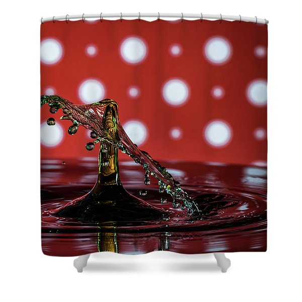 Collision 2018-7 Shower Curtain