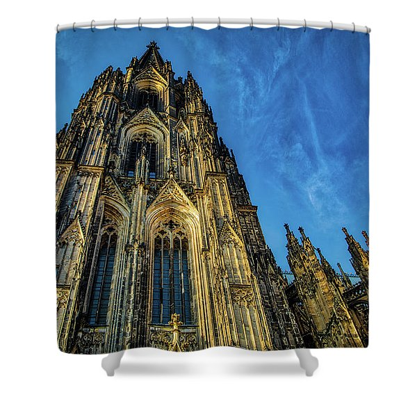 Cologne Cathedral Afternoon Shower Curtain
