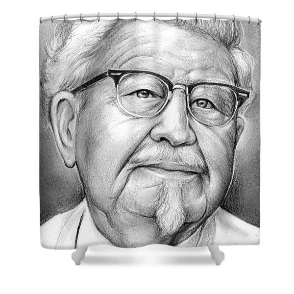 Colonel Sanders Shower Curtain