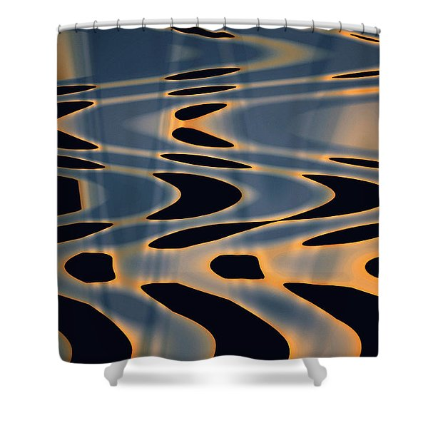 Color Abstraction Xxiv  Shower Curtain
