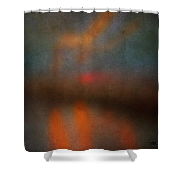 Color Abstraction Xxv Shower Curtain