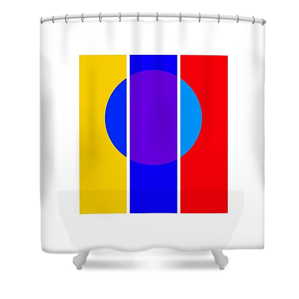 Color And Form Shower Curtain by Charles Stuart