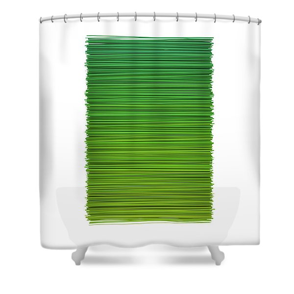 Color And Lines 2 Shower Curtain