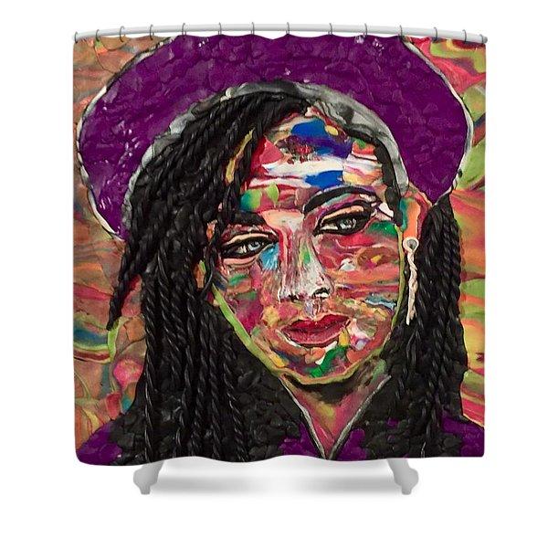 Color Chameleon Shower Curtain