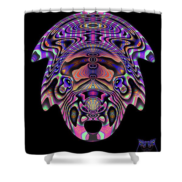 Color Cow Shower Curtain