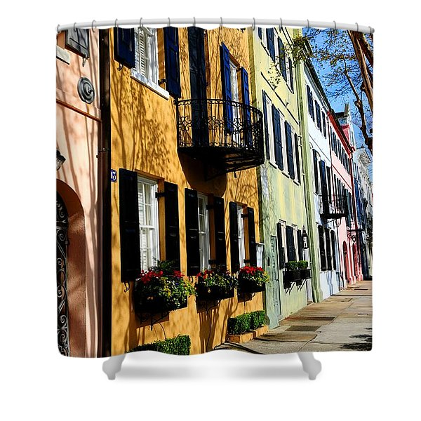 Color Of Charleston Shower Curtain