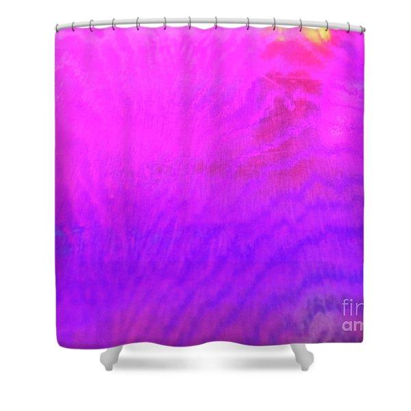 Color Surge Shower Curtain
