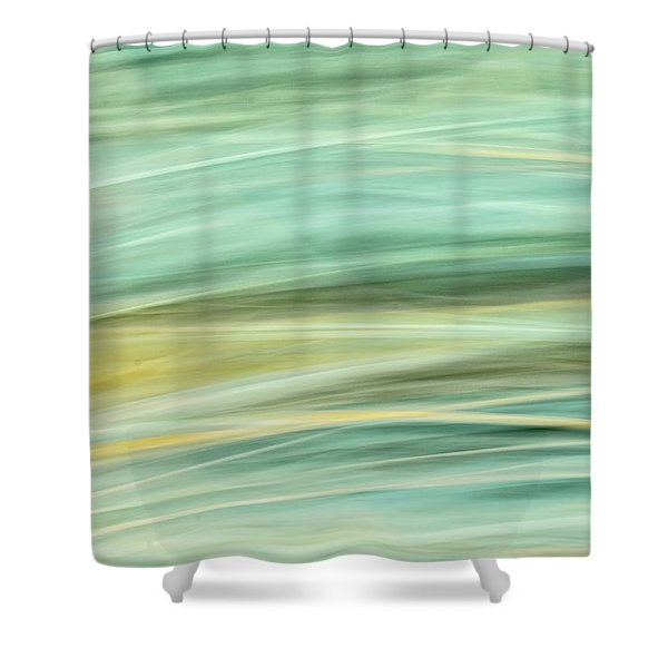 Color Swipe Shower Curtain